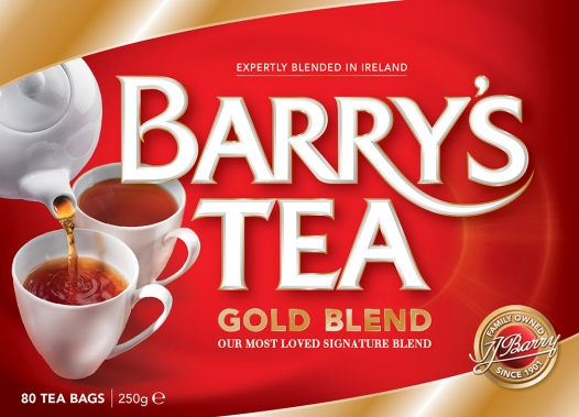 Barry's Tea   Client - The Brand Union