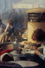 Saul Leiter/cafe_paris