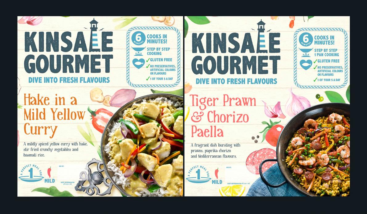 Kinsale Gourmet  Food, Fish ,Still Life,
