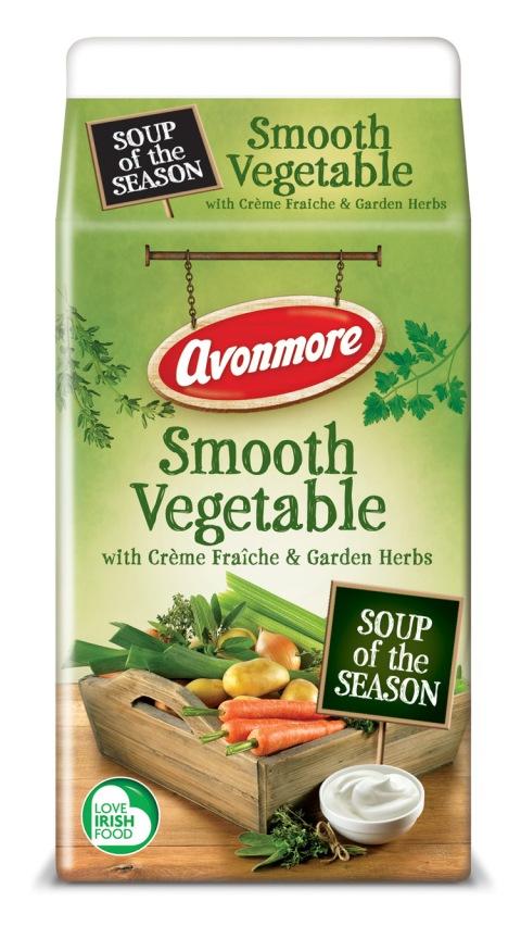 Avonmore Smooth Vegetable with Crème Fraîche & Garden Herbs Soups