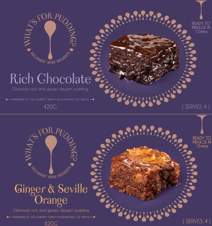 Royal County Puddings | Design Agency : Greenhouse